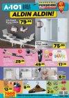 A101 8 Mart 2018 İndirim Katalogu - Aynalı Banyo Dolabı