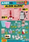 A101 9 Kasım 2017 Kataloğu - Sinbo Elektrikli Çay Seti