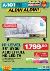 A101 Aktüel 28 Aralık 2017 Katalogu - Uydu Alıcılı Led Televizyon
