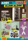 A101 Market 4 Ocak 2018 Katalogu - Ahşap Fiskos Masası