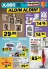 6 Nisan 2017 A101 Katalogu - Arzum AR4031 Dik Süpürge