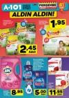 A101 02.02.2017 Perşembe Katalogu - Kotex Hijyenik Ped