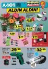 A101 Fırsatları 13 Nisan 2017 Katalogu - Canlı Çiçek
