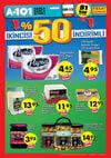 A101 Market 9 Ocak - 15 Ocak 2017 Katalogu - %50 İndirim