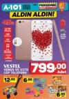 A101 Market 9 Şubat 2017 Katalogu - Vestel Venüs V3 Cep Telefonu
