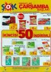 ŞOK Market 18 Ocak 2017 İndirim Katalogu - 1 Alana 1 Bedava