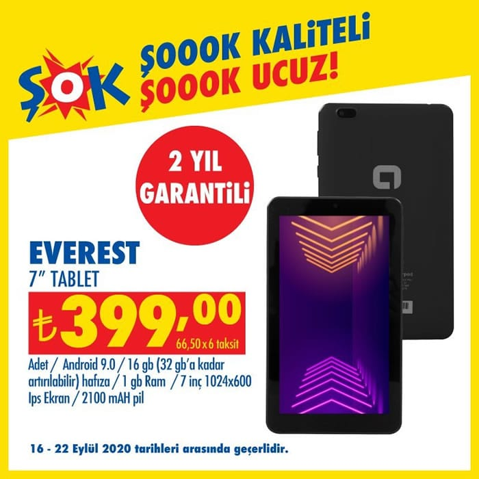 Everest Tablet