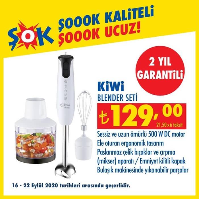 Kiwi Blender Seti