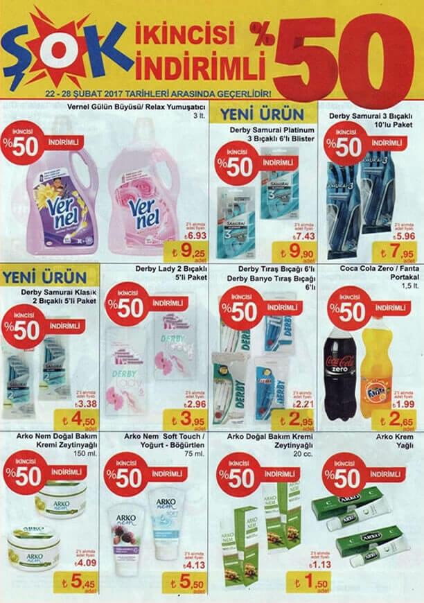 ŞOK 22 Şubat - 1 Mart 2017 Aktüel Ürünler Katalogu