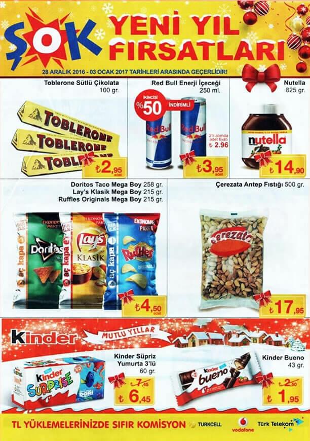 ŞOK Aktüel 28 Aralık 2016 Katalogu - Çerezata Antep Fıstığı