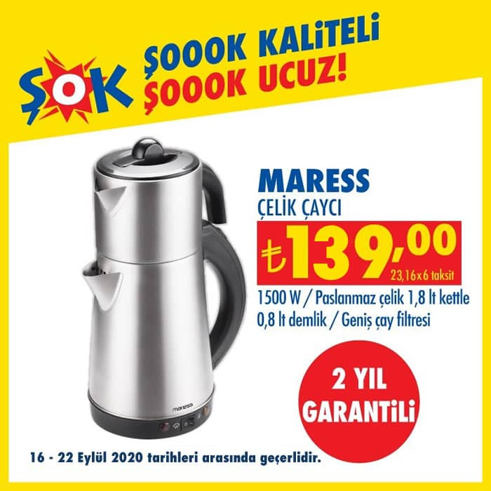Maress Çelik Çaycı