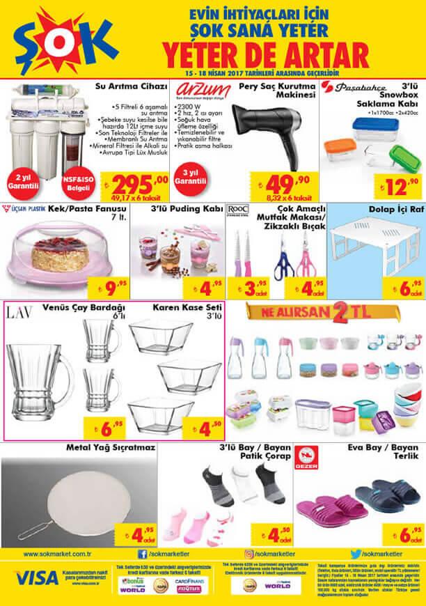 ŞOK Market 15 Nisan 2017 Katalogu - Su Arıtma Cihazı