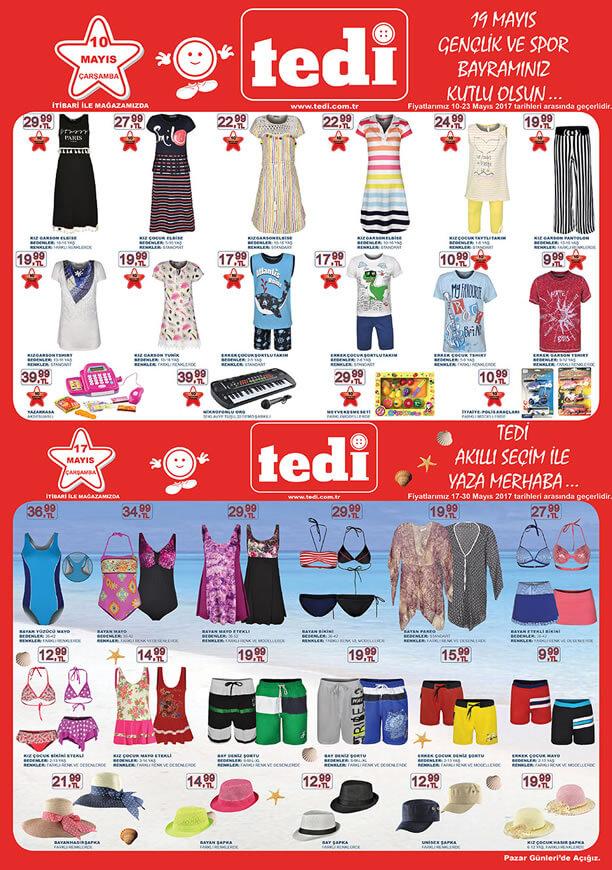 TEDİ 10-17 Mayıs 2017 Katalogu - Kız Garson Elbise