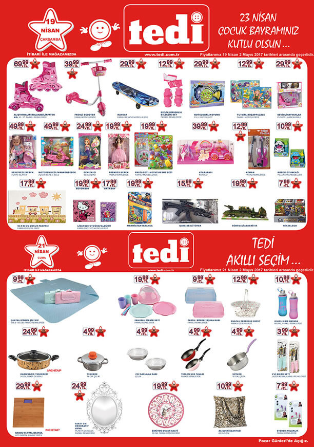 TEDİ 19-21 Nisan 2017 Katalogu - Paten