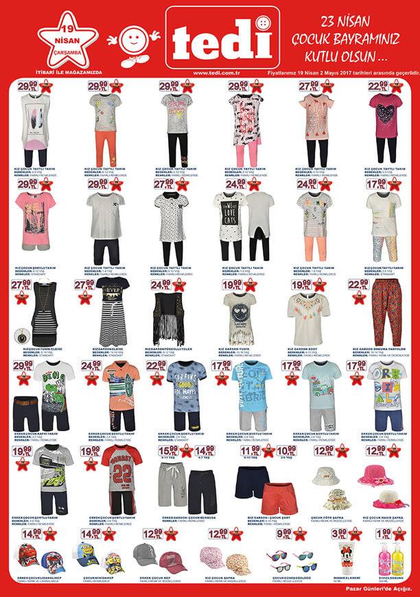 TEDİ 19 Nisan 2017 Katalogu - Çocuk Giyim