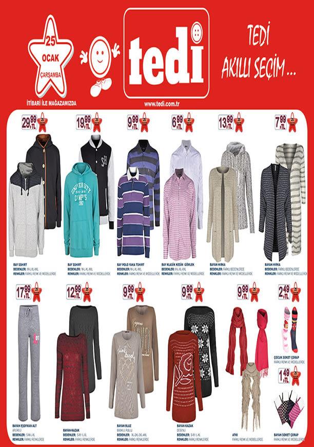 TEDİ 25 Ocak 2017 Katalogu - Bayan Hırka