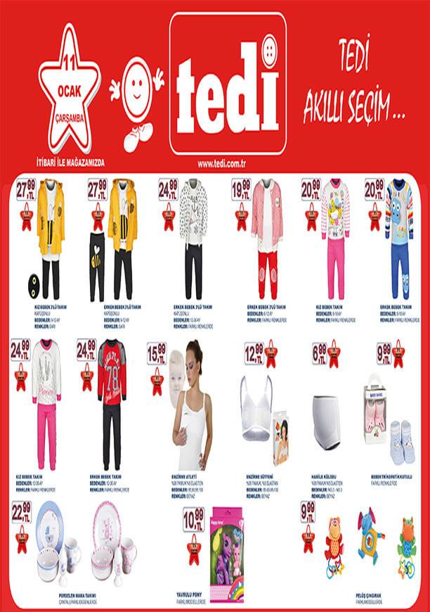 TEDİ Market 11 Ocak 2017 Katalogu - Bebek Giyim