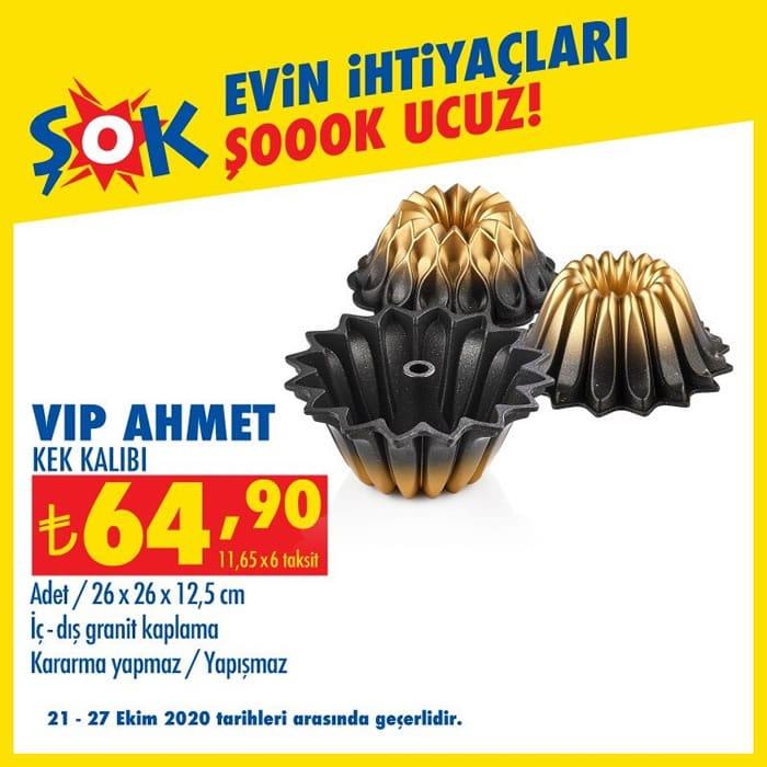 Vip Ahmet Kek Kalıbı