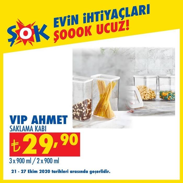 Vip Ahmet Saklama Kabı