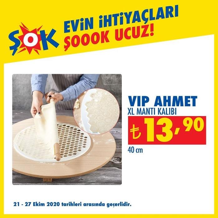 Vip Ahmet XL Mantı Kalıbı