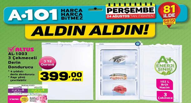 A101 24 Ağustos 2017 Aktüel Ürünler Kataloğu