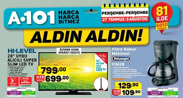 A101 Aktüel 27 Temmuz 2017 Kataloğu