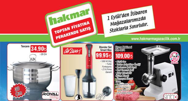 HAKMAR 1 Eylül 2016 Aktüel Ürünler Katalogu