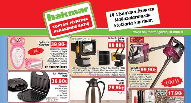 HAKMAR 14 Nisan 2016 Aktüel Ürünler Katalogu