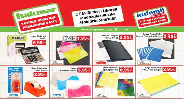 HAKMAR 17 Eylül 2015 Aktüel Ürünler Katalogu