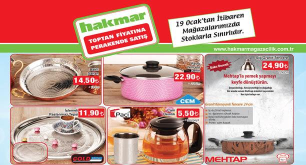 HAKMAR 19 Ocak 2017 Aktüel Ürünler Katalogu