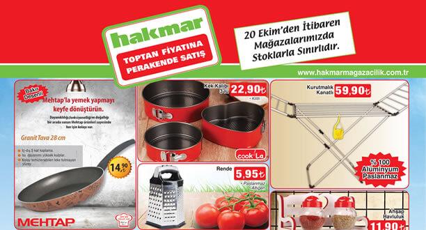 HAKMAR 20 Ekim 2016 Aktüel Ürünler Katalogu