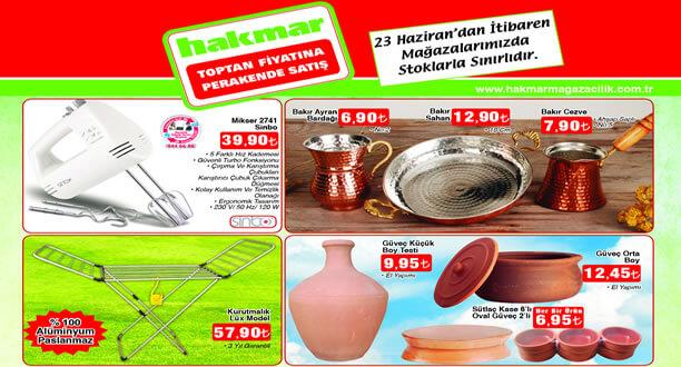 HAKMAR 23 Haziran 2016 Aktüel Ürünler Katalogu