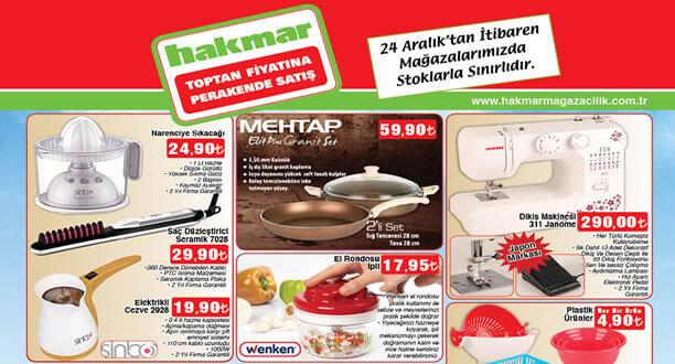 HAKMAR 24 Aralık 2015 Aktüel Ürünler Katalogu