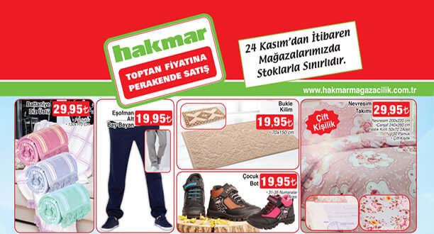 HAKMAR 24 Kasım 2016 Aktüel Ürünler Katalogu