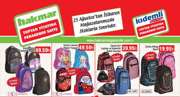 HAKMAR 25 Ağustos 2016 Aktüel Ürünler Katalogu