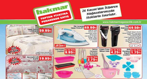 HAKMAR 26 Kasım 2015 Aktüel Ürünler Katalogu