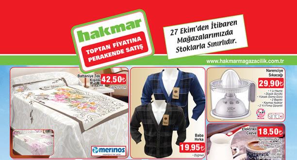 HAKMAR 27 Ekim 2016 Aktüel Ürünler Katalogu