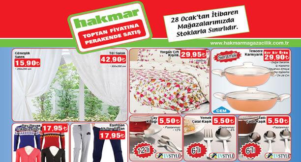 HAKMAR 28 Ocak 2016 Aktüel Ürünler Katalogu