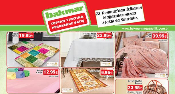 HAKMAR 28 Temmuz 2016 Aktüel Ürünler