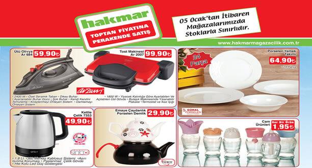 HAKMAR 5 Ocak 2017 Aktüel Ürünler Katalogu
