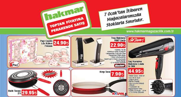 HAKMAR 7 Ocak 2016 Aktüel Ürünler Katalogu