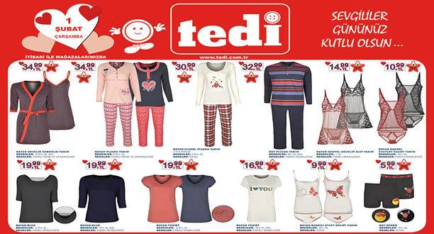 TEDİ 1 Şubat 2017 Aktüel Ürünler Katalogu