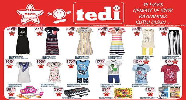 TEDİ 10-17 Mayıs 2017 Aktüel Ürünler Katalogu