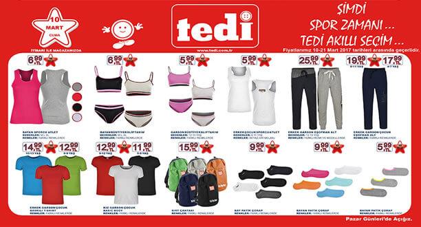 TEDİ 10 Mart 2017 Aktüel Ürünler Katalogu