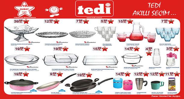 TEDİ 10 Şubat 2017 Aktüel Ürünler Katalogu