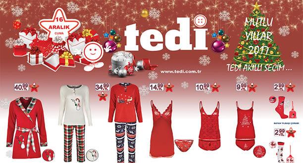 TEDİ 16 Aralık 2016 Aktüel Ürünler Katalogu
