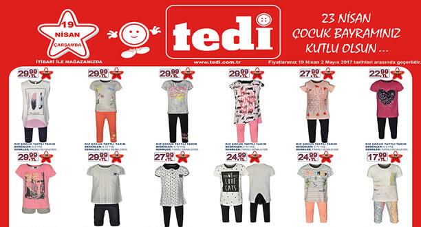 TEDİ 19-21 Nisan 2017 Aktüel Ürünler Katalogu