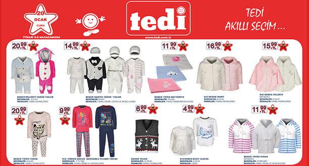 TEDİ 20 Ocak 2017 Aktüel Ürünler Katalogu