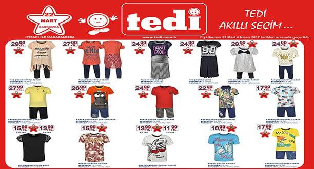 TEDİ 22 Mart 2017 Aktüel Ürünler Katalogu