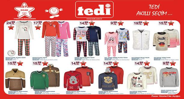 TEDİ 27 Ocak 2017 Aktüel Ürünler Katalogu